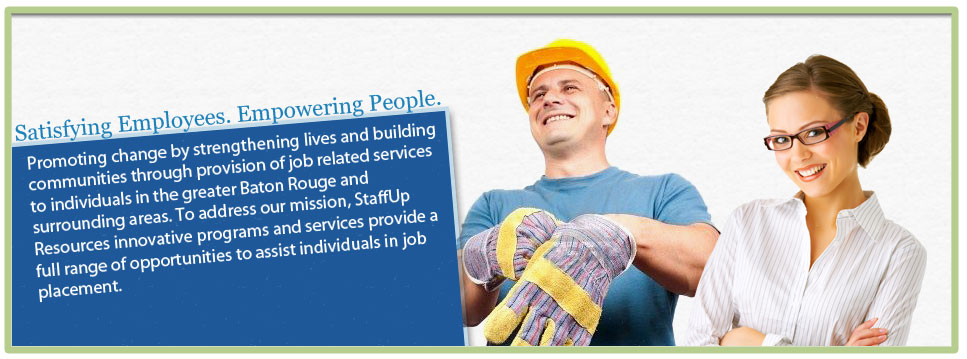 Satisfying Employees. Empowering People.